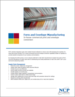 Form and Envelope Manufacturing